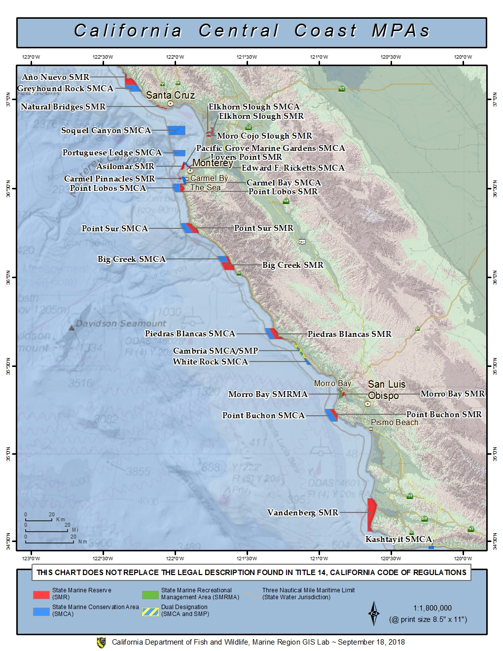 central california mpas. central california marine protected areas