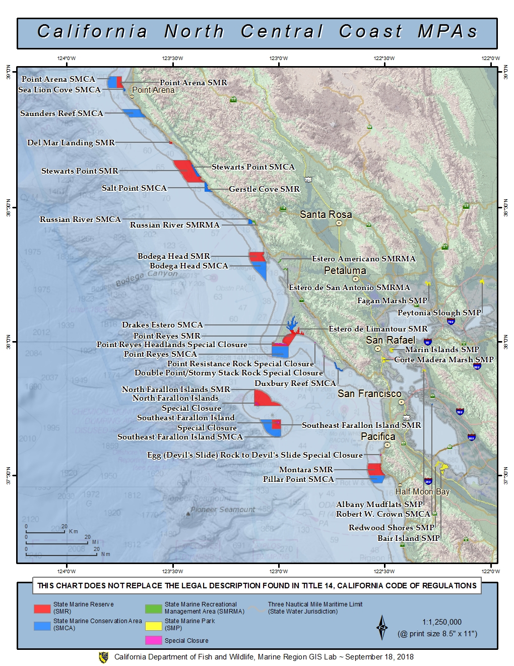 North Central California Marine Protected Areas