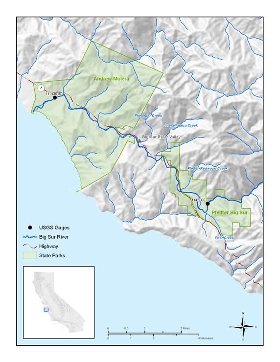 Big Sur River Study (Monterey County)